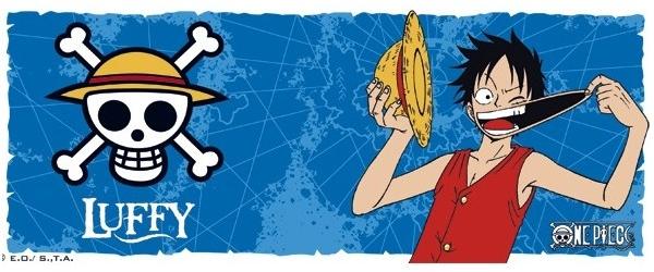Mug One Piece Luffy & Emblem