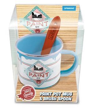Mug Pot de Peinture + Cuillère
