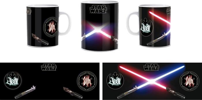 Mug Star Wars Sabres Laser