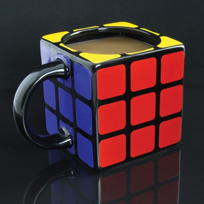 mug rubik 39 s cube. Black Bedroom Furniture Sets. Home Design Ideas