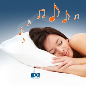 Oreiller Musical MP3