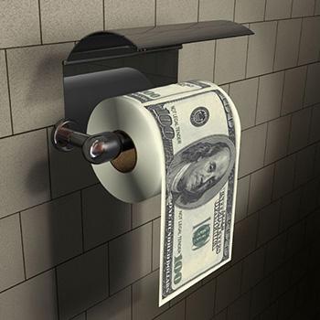 Papier Toilette Dollar