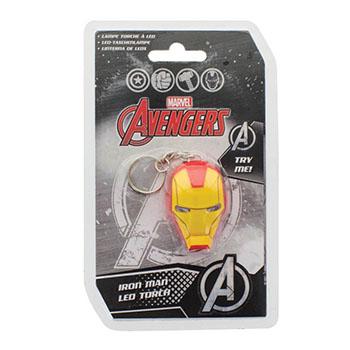 Porte-clés Iron Man Lampe Torche