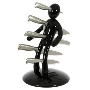 Porte-Couteaux Voodoo Noir
