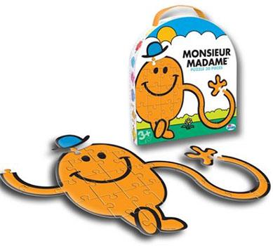 Puzzle Monsieur Chatouille