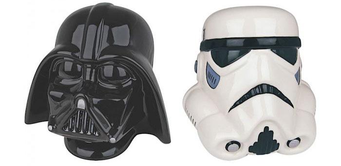 Serre-livres Dark Vador et Stormtrooper