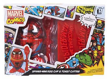 Set Coquetier Spiderman