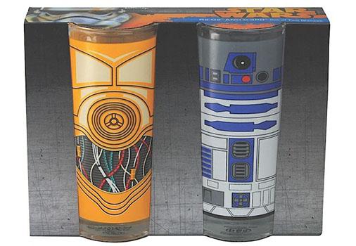 Verres R2D2 et C3PO