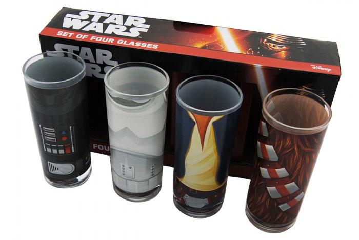 Set de 4 Verres Star Wars