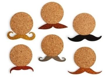 Dessous de verre moustache - Dessous de verre originaux ...