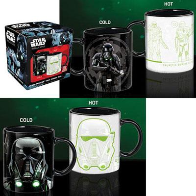 Mug Death Trooper Thermo-réactif