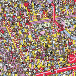 Tablier Où est Charlie ?