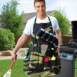 Tablier de Barbecue Militaire