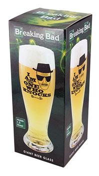 Verre à Bière Géant Breaking Bad