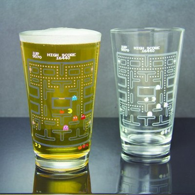 Verre Pac-Man Thermo-Réactif