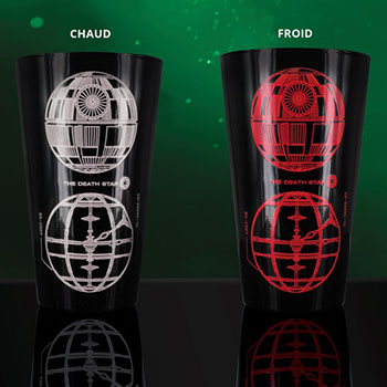 Verre Thermo-réactif Dark Vador Star Wars