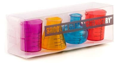 Verres à Shooters Chimie