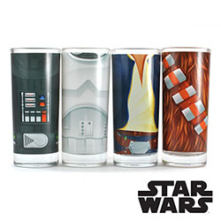 Set de 4 Verres Star Wars
